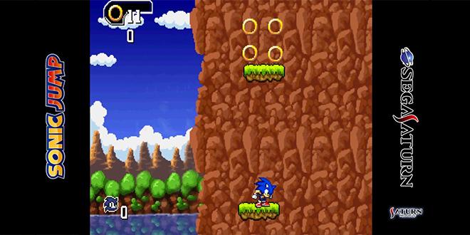 Sonic Jump for Sega Saturn