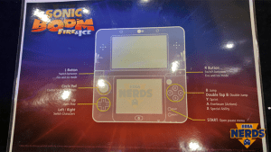 Well one thing you can say for Sonic Boom - it certainly likes to make use of all the buttons on the 3DS!