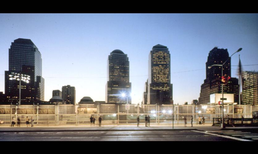 Ground Zero Viewing Wall  SEGD