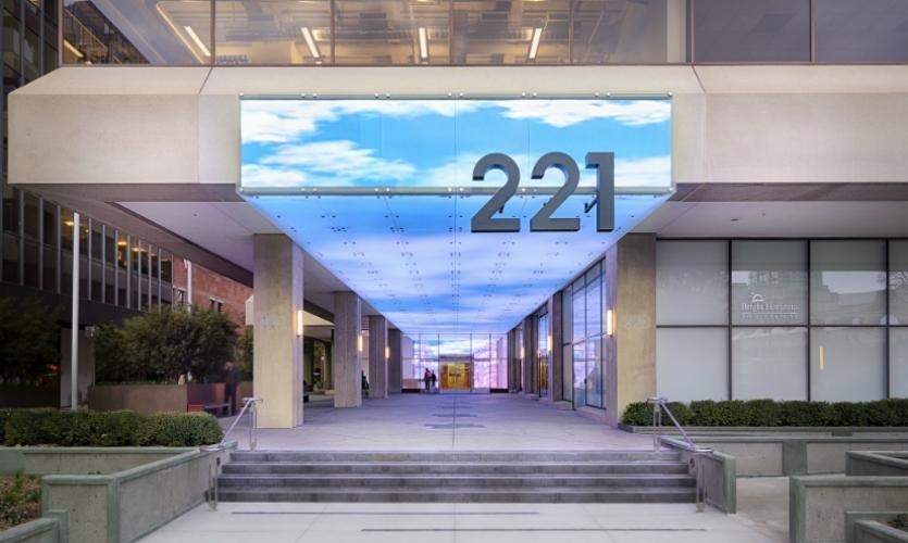221 Main Street Digital Facade  SEGD