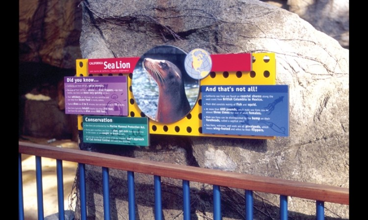 Zoo Sign with Definitions