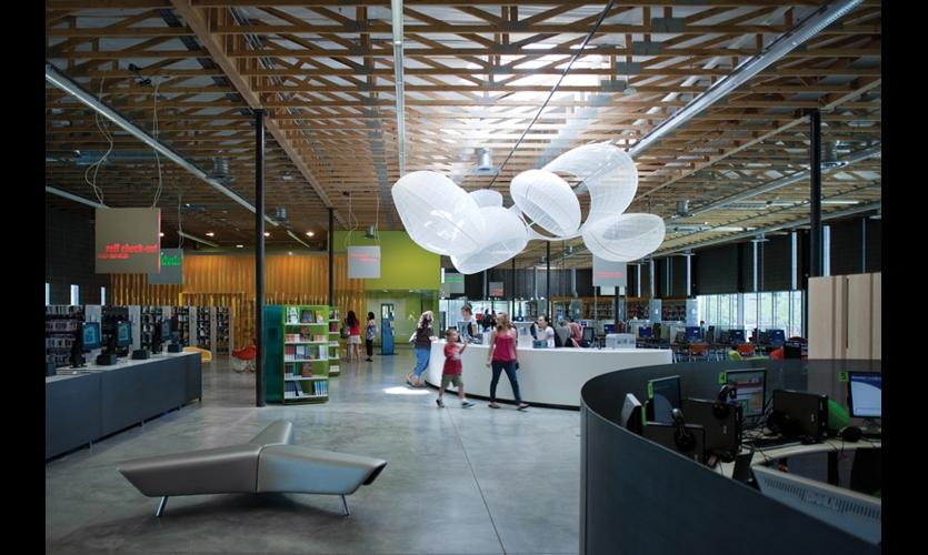 Agave Library Environmental Graphics  SEGD