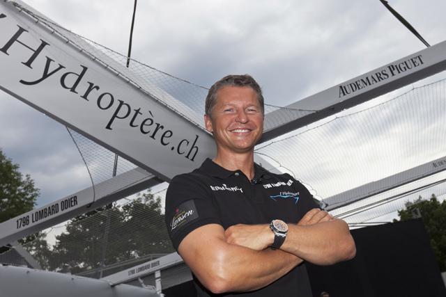 Alain Thébault, der Antreiber des Speed-Projektes © Gilles Martin-Raget