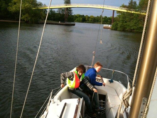 Kinderleicht. Die alte Varianta auf der Sechs-Seen-Platte. © Segelreporter.com