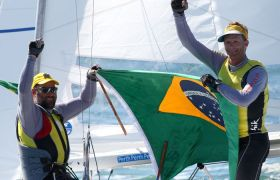 Brasilien Segel Superstar Robert Scheidt