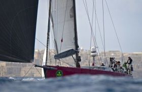 """Coral"" beim Rolex Middle Sea Race © Rolex"