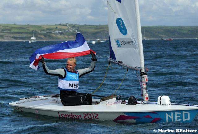 Marit Bouwmeester feierte im Medalrace mehrere unglaubliche Comebacks. © Marina Könitzer