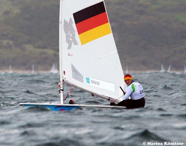 Franziska Goltz kam nicht in Fahrt. Sie hatte sich mehr vorgenommen als Rang 26. © Marina Könitzer