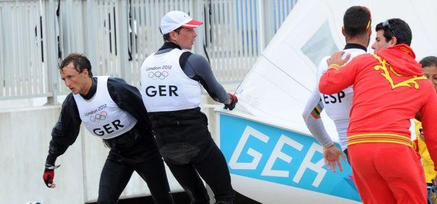 Ferdinand Gerz und Patrick Follmann gehören zur jungen Generation, die eine zweite Olympiakampagne planen. © Marina Könitzer