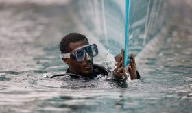 Vorbereitungen beim Oman Team. © MOD70 Musandam-Oman Sail