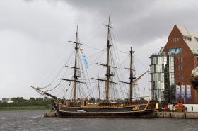 Die Bounty in Rostock © Hansesail