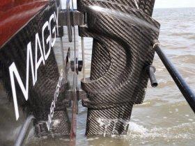 Gnadenlos Gewicht sparen © spezialbootsbau