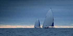 Kröger schafft es fast noch, die Holländer kurz vor dem Ziel zu überholen. © onEdition