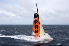 """""""PRB"""" von 2010 war eines der schnellsten Schiffe im Feld und ist nun raus.  © Jean-Marie Liot / DPPI"""