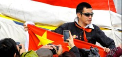 Guo Chuan will als erster Chinese einhand nonstop um die Welt segeln © chuan