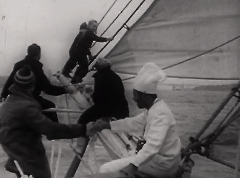 """Mit Koch und Familie unterwegs auf der """"Wander Bird"""" rund Kap Horn."""