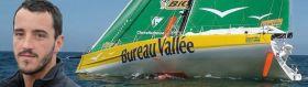 Louis Burton ist mit 27 Jahren der jüngste Skipper im Feld. Das Rennen könnte für ihn zuende sein. © Jean-Marie Liot / DPPI