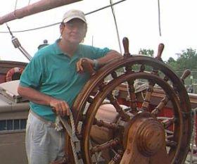 """Der vermisste """"Bounty""""-Skipper Robin Walbridge. © HMS Bounty"""