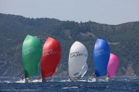 Die Flotte bei der Tour de France soll auf 20 Yachten anwachsen. © Jean-Marie Liot / ASO