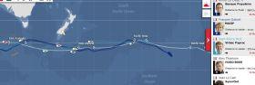 Die Vendée Globe Flotte am 27.12