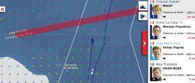 Vendée Globe am 15.1. Gabart nähert sich der innertropischen Kovergenzzone