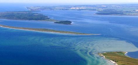 Ostsee von oben