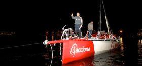 "Javier Sansos ""Acciona"" ist aus dem Atlantik gerettet"
