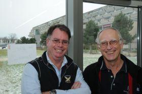 Dobbs Davies (l.) und Wolfgang Schäfer