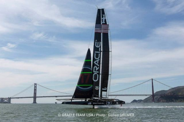 Oracle vor der Golden Gate Bridge.