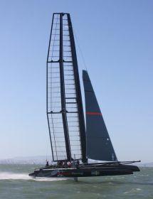 Artemis fliegt mit dem AC45