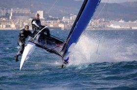 Rekordversuch, rund Korsika, Yves Bourgnon