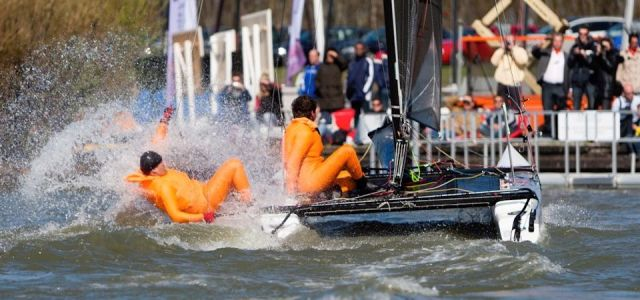 Bolster Team Race in Muiderzand