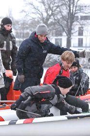 Mathew Belcher im Schneetreiben am NRV