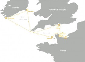 Normandy Channel Race Kurs