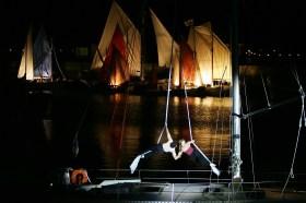 Weltumseglung, Hafenshow, Akrobaten