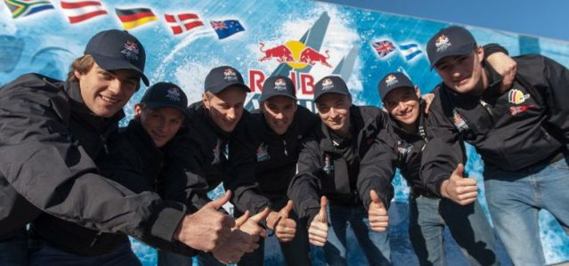 Team Germany beim Red Bull Youth America's Cup