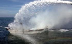 Brandbekämpfung DGzRS