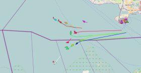 Bodensee Rund Tracker Start