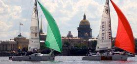 Match Race Europameisterschaft  in St. Petersburg