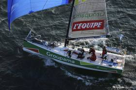 Tour de France à la Voile, Iskareen, Groupama, Cammas