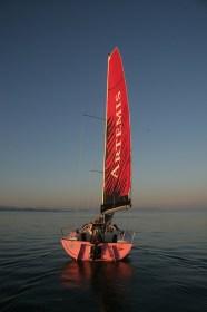 Alleine segeln, endlich etwas ganz alleine machen! © lambert