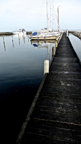 Ruhige Hafenatmo, wie man es sich wünscht © Stephan Boden