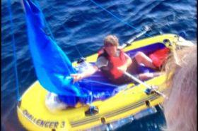 irische See, Schlauchboot