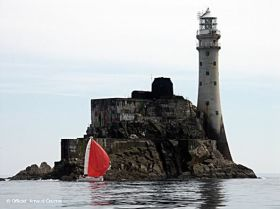 Flaute am Fastnet-Rock.