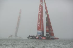 Louis Vuitton Cup, Nebel