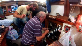 Sailing Conductors, Motorprobleme