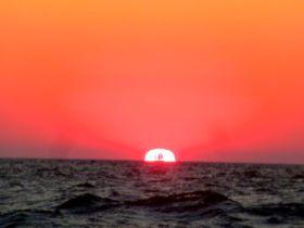Magischer Sonnenaufgang Ostsee