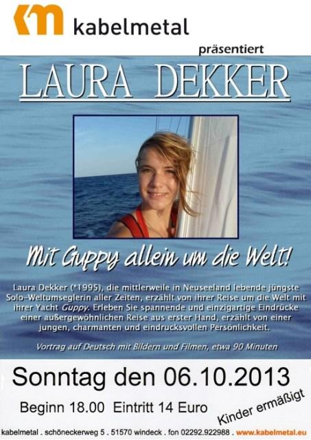 Laura Dekker Vortrag am 6.10.2013