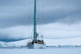 Trotz Rennyacht-Historie durchaus Eis-gängig – die Spirit of Sidney © wickens