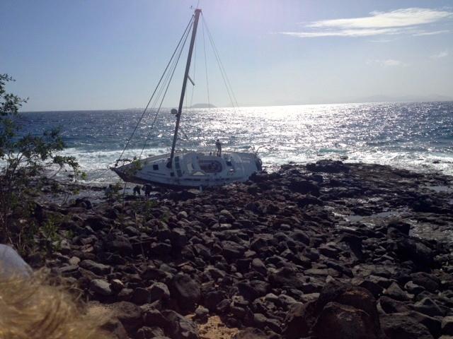 Strandung, Yacht, Lanzarote